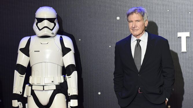 Harrison Ford a 75 ans.